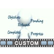 Custom Text Video