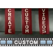 Three Banner Text Video Background