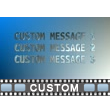 Flying Text Video Background