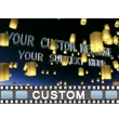 Luminaries Text Video Background