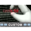 Digital Theft Text Video Background