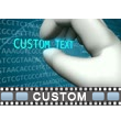GATC DNA Text Video Background