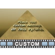 Pyramid Text Video Background