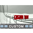 Custom Word Roller Coaster Video Background
