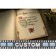 Fairy Tale Book Custom Video Background