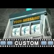 Custom Slot Machine Winner Video Background