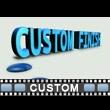Start To Finish Custom Text Video Background