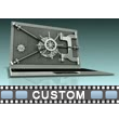 Custom Laptop Vault Locked Video Background