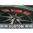 Custom Compass Close Up Video Background