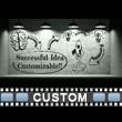 Light Bulb Idea Room Custom Wall Video Background