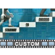 Stairs To Success Text Video Background