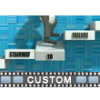 Stairs To Failure Text Video Background