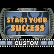 Start Button Gears Custom Video Background
