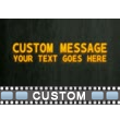 Text Particles Custom Video Background