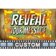 Fire Reveal Custom Video Background