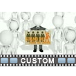 Walk Around Sign Holder Custom Video Background
