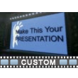 Big Screens And Lights Custom Video Background