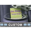 Silver Platter Reveal Custom Video Background