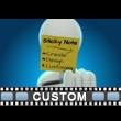 Figure Sticky Note Custom Video Background