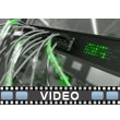 Network Cable Lights Video Background