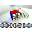 Puzzle Cube Custom Video Background