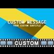 Minimalist Intro Custom Video Background