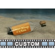 Message In Bottle Custom Video Background