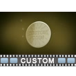 Gold Coin Custom Video Background