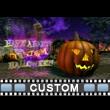 Scarecrow Pumpkin Patch Custom Video Background