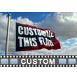 Flag Blowing Custom Video Background