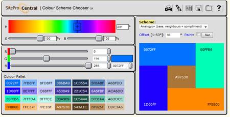 Color Palette Chooser