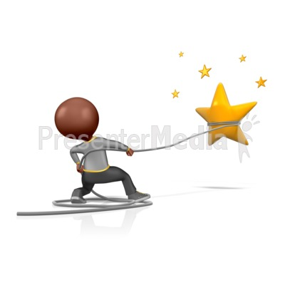 Catch A Star  Presentation clipart