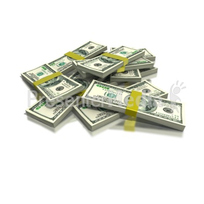 Stack of Money Presentation clipart