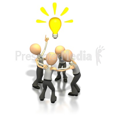 Brainstorming Idea  Presentation clipart