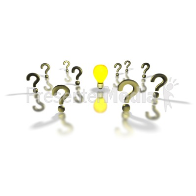 Light Bulb Answer In The Midst  Presentation clipart