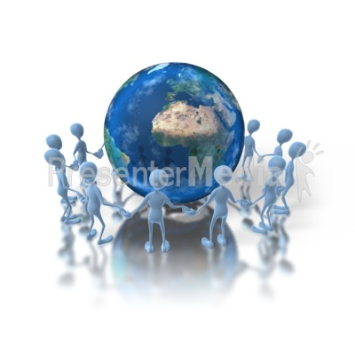 Unity Earth Presentation clipart