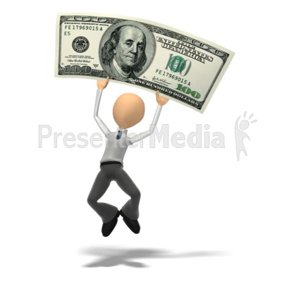 Money Happy Presentation clipart