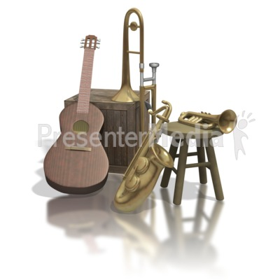 Old Instruments  Presentation clipart