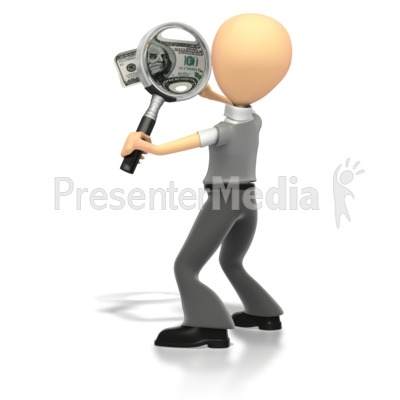 Money Examination  Presentation clipart