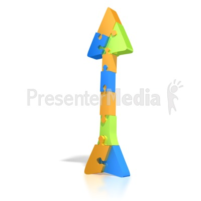 Puzzle Arrow  Presentation clipart