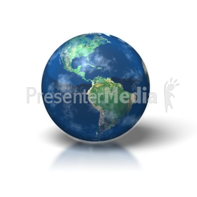 Simple Earth Presentation clipart