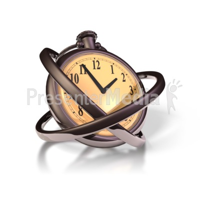 Old Pocket Watch Presentation clipart