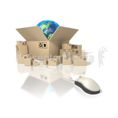 Global Shipping Presentation clipart