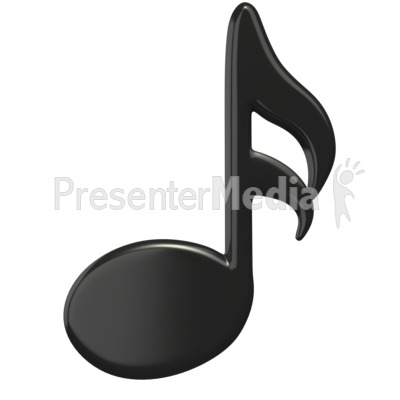 Music Sixteenth Note Presentation clipart