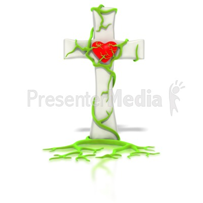 Vine Of Life Heart  Presentation clipart
