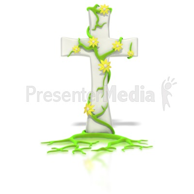 Flower Vine Of Life Presentation clipart