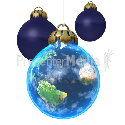 Earth Ornament Presentation clipart