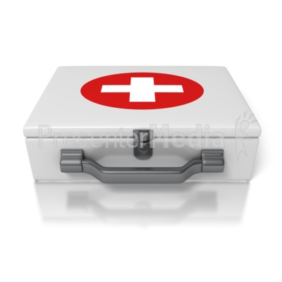 First Aid Kit Presentation clipart