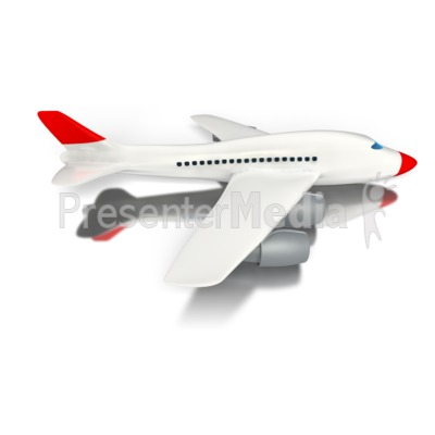 Travel Airplane Presentation clipart