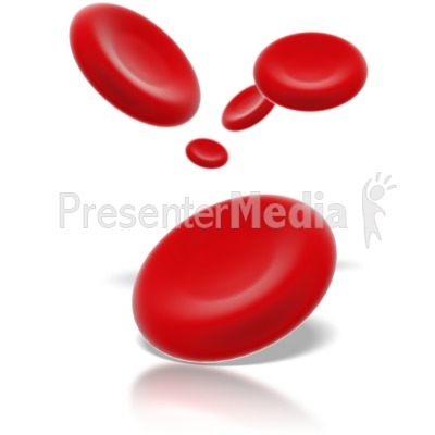 Red Blood Cells Presentation clipart